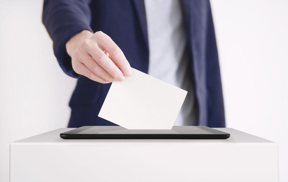 Voto en junta de vecinos