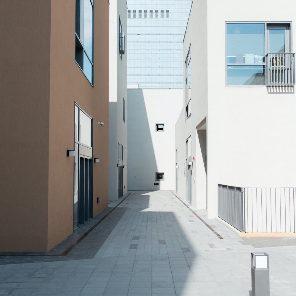 Sombra por la orientación de la vivienda