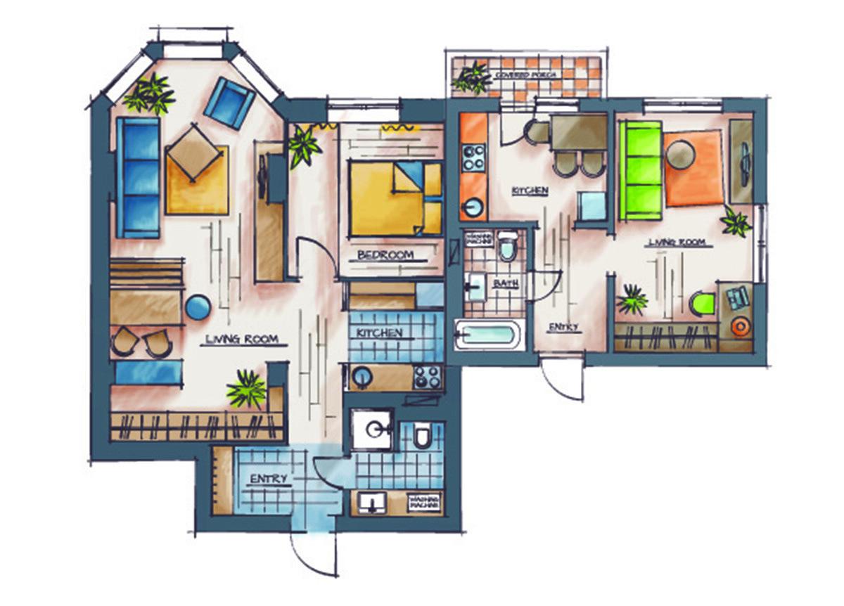 segregación vivienda horizontal
