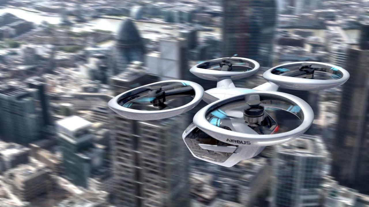 Autonomous flying vehicle Airbus Pop.Up_Next