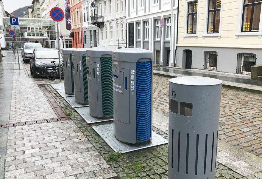 Bergen cuenta con uno de los sistemas de recogida de residuos más eficientes.