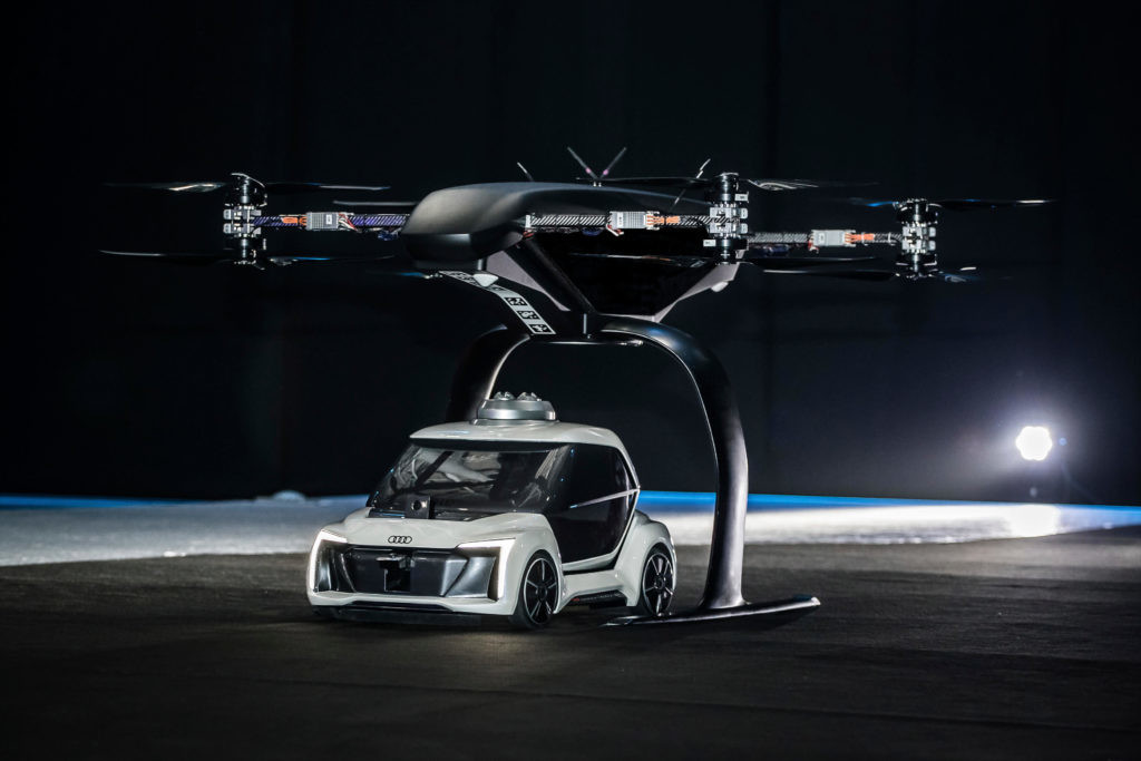 Pop.Up Next, el modelo de taxi volador de Airbus.