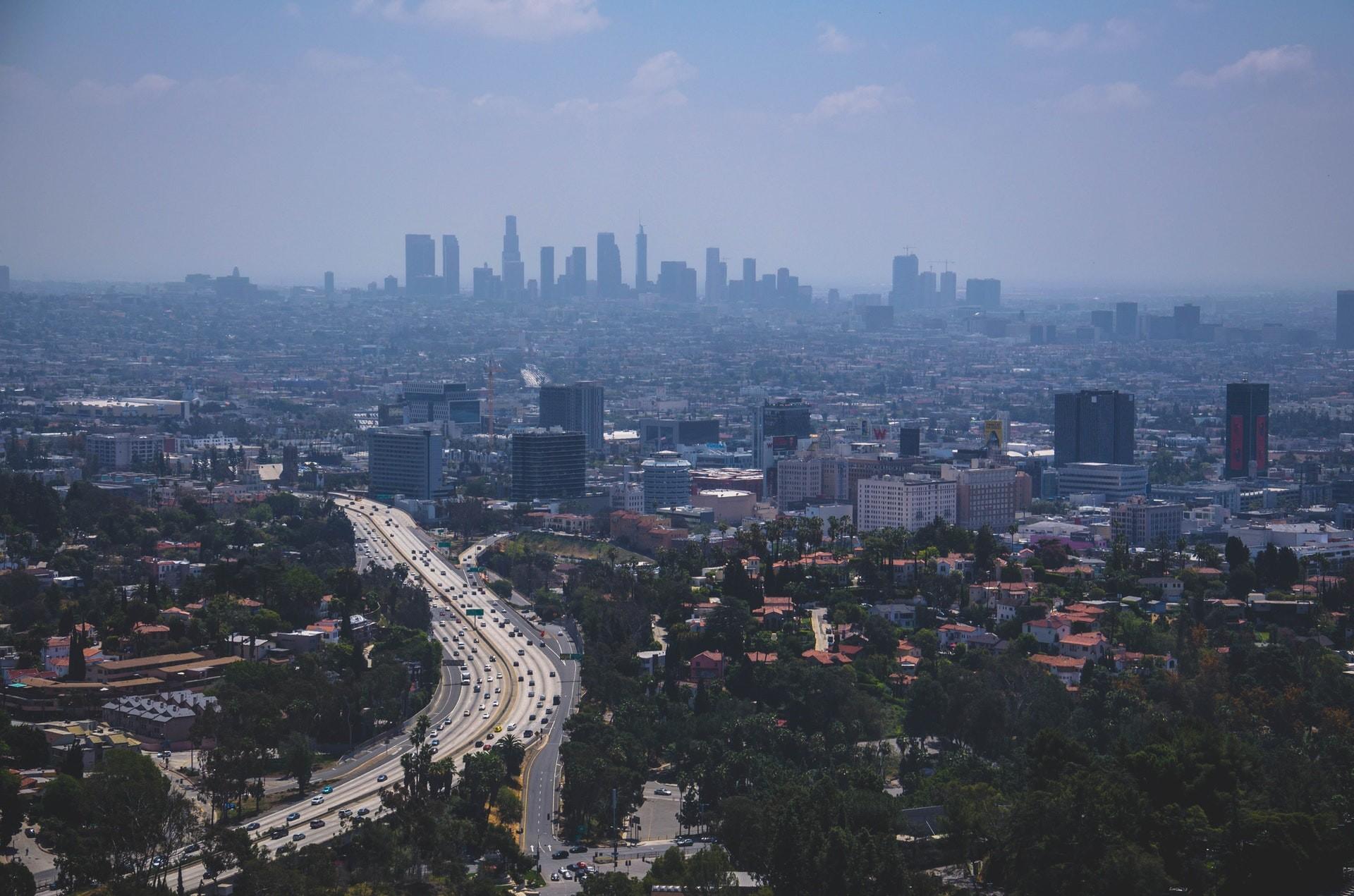 Los Angeles city space