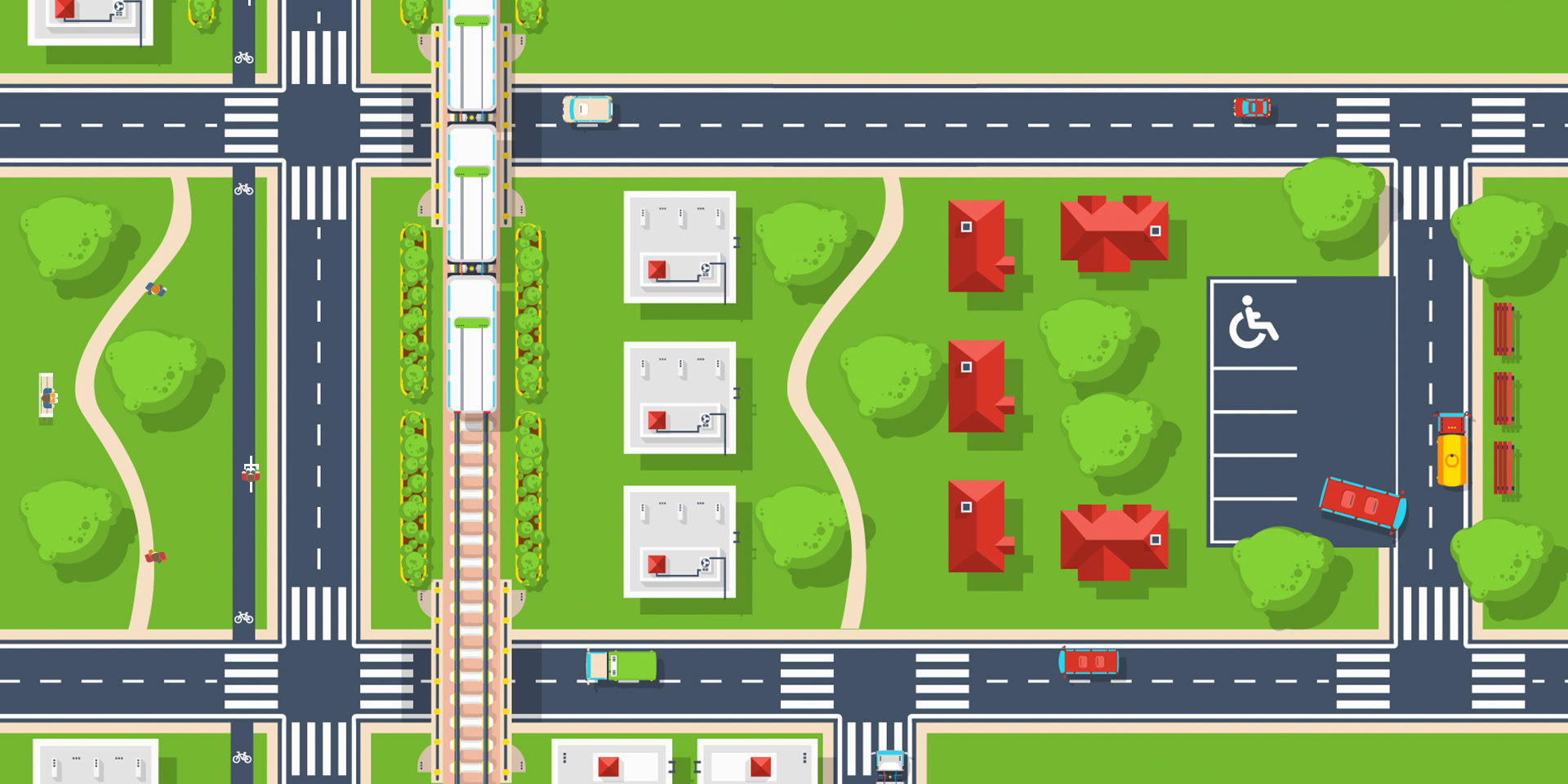 smart city mobility infographic