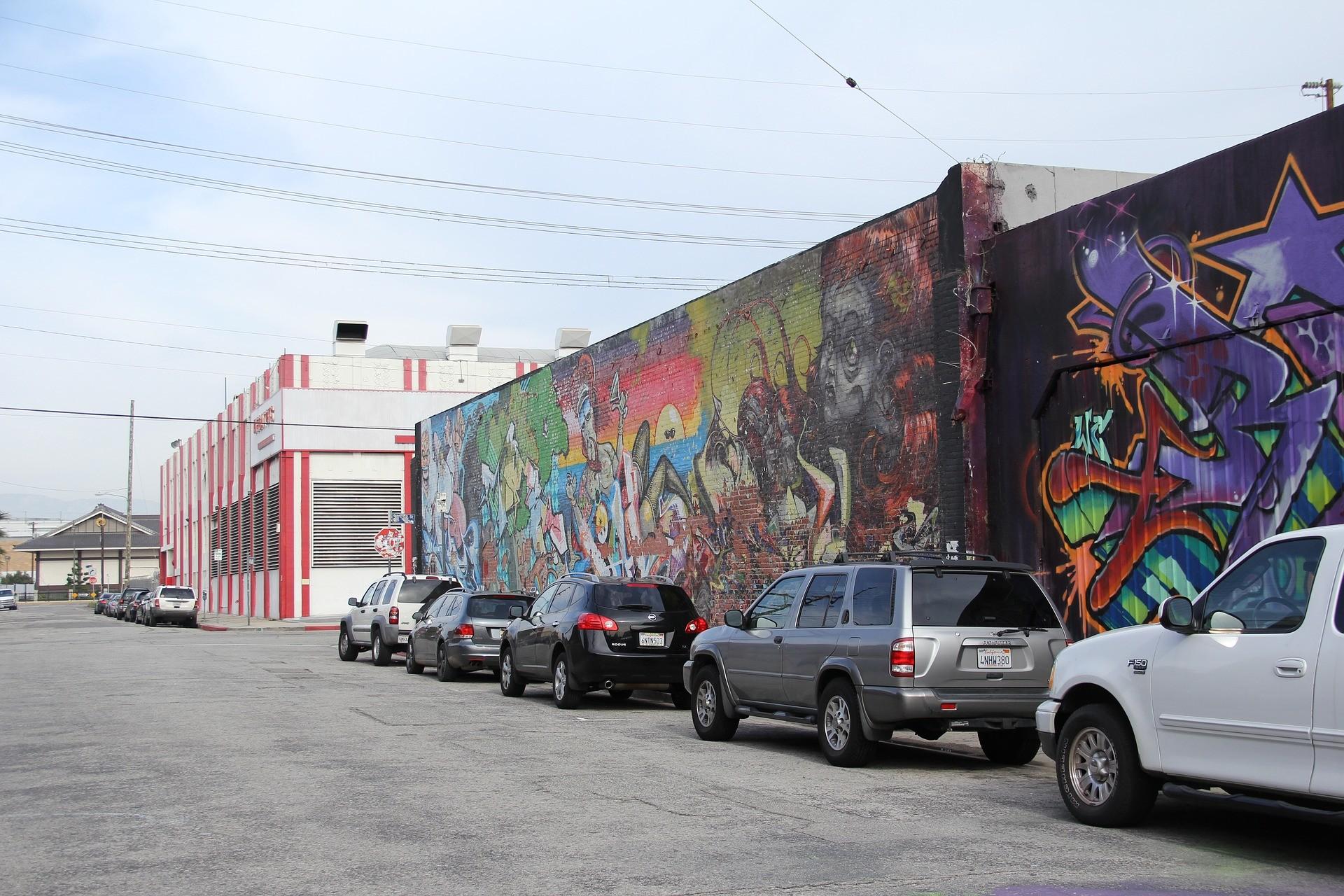 parking space in Los Angeles
