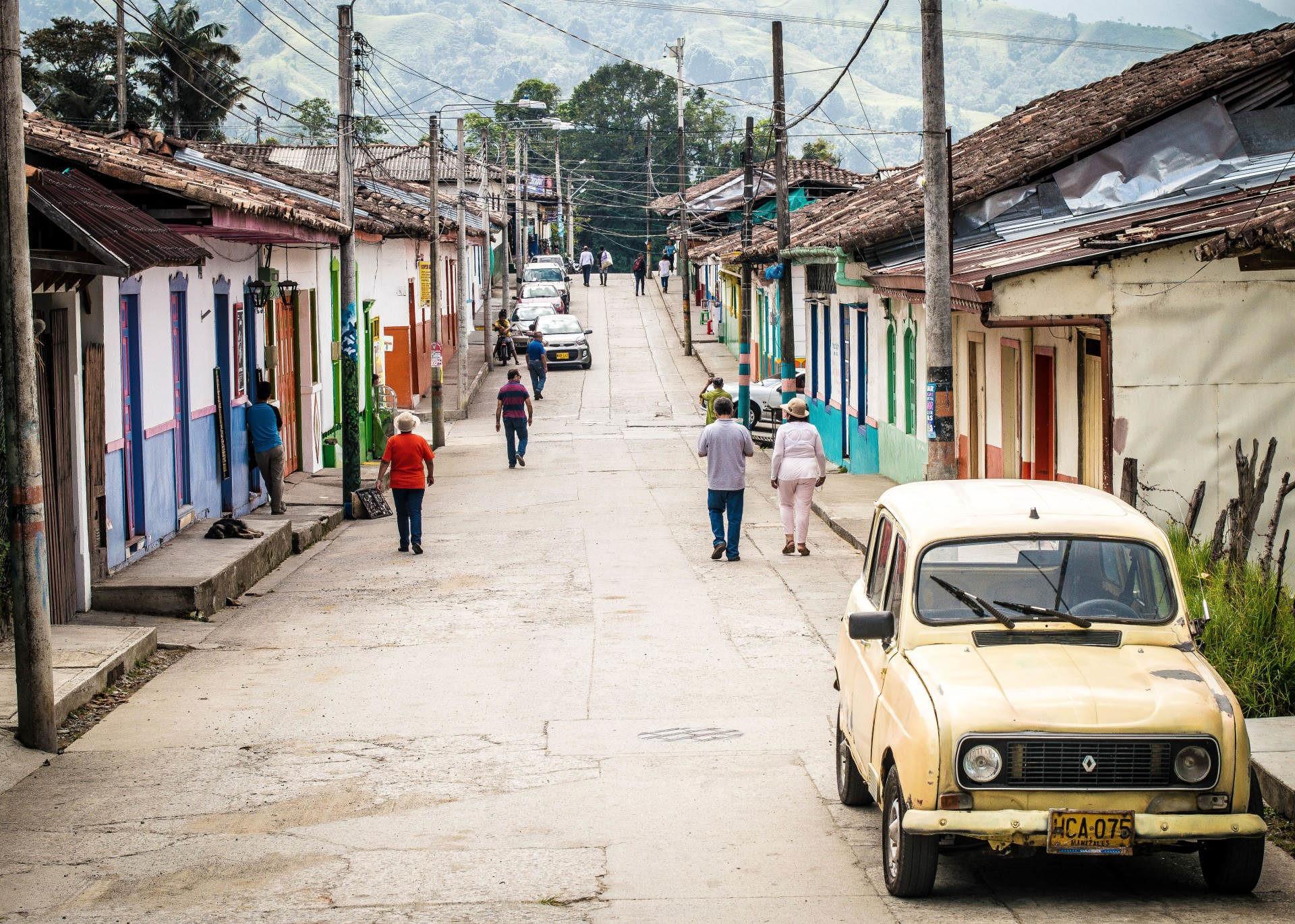 calle de america latina