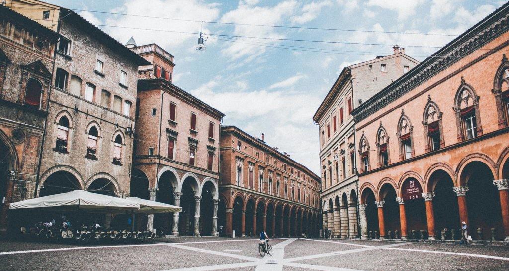 La ciudad que diseñó Leonardo da Vinci contaba con plazas y espacios abiertos.