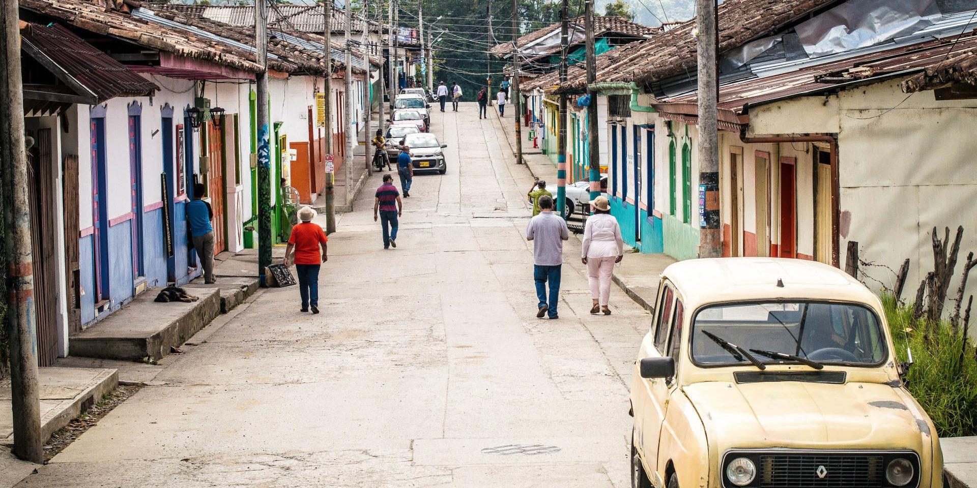 latin american street