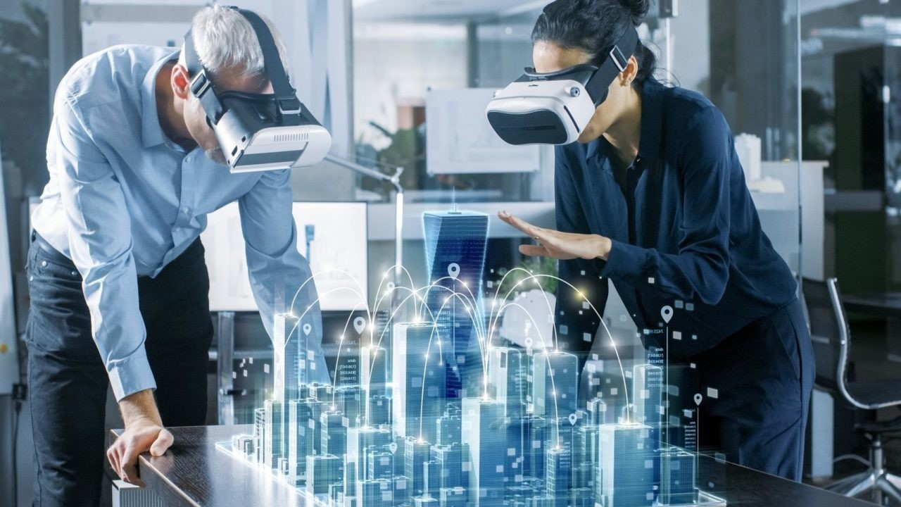 virtual reality construction and architecture