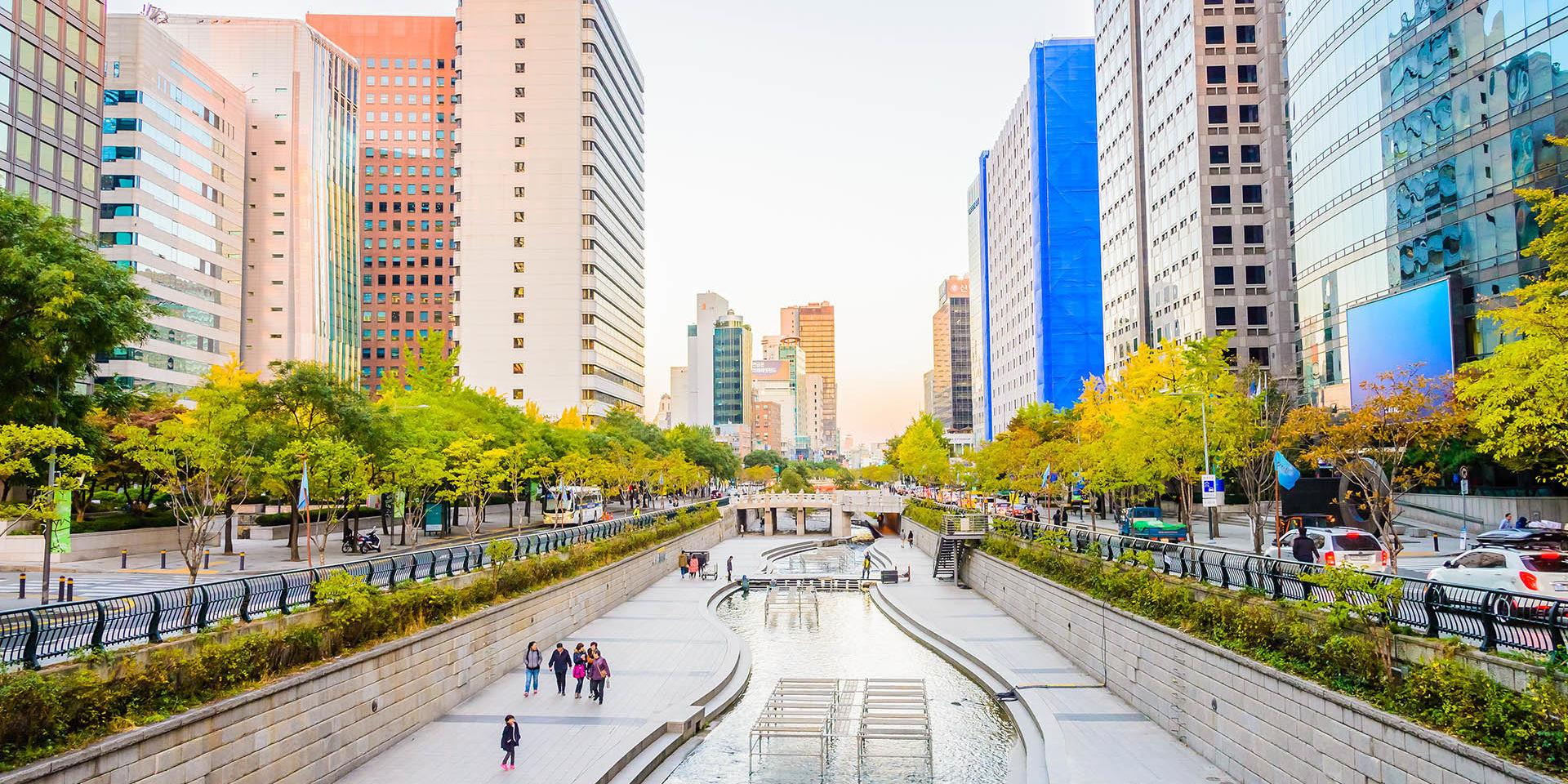 Río Cheonggyecheon, Corea del Sur