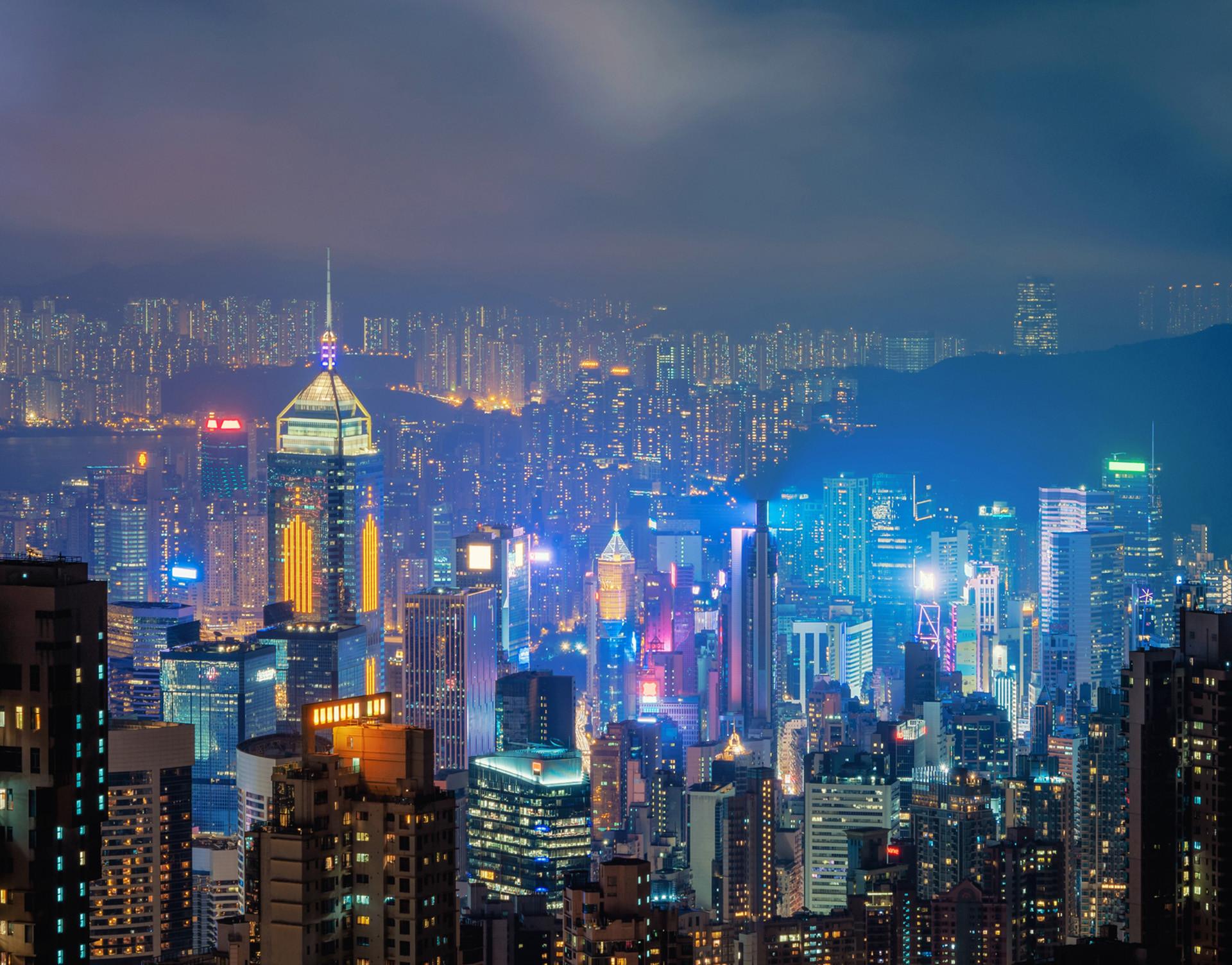 hong kong distrito financiero ciudad-estado