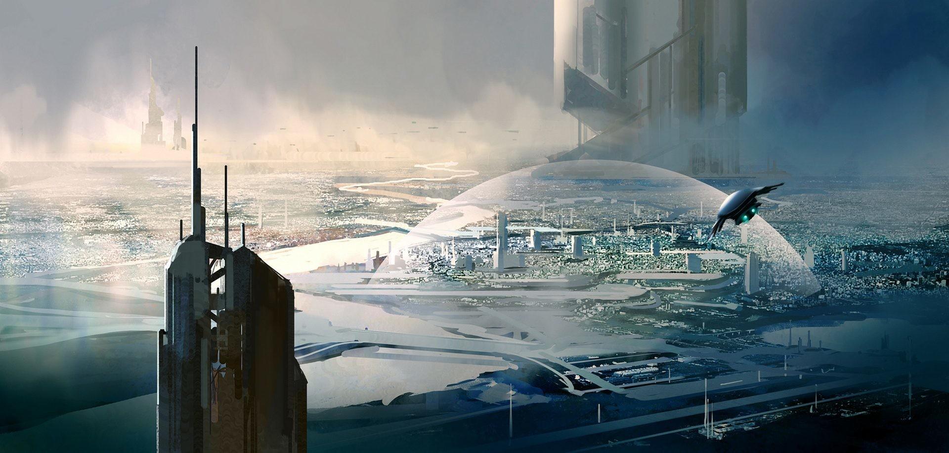 Ciudad de ciencia ficción