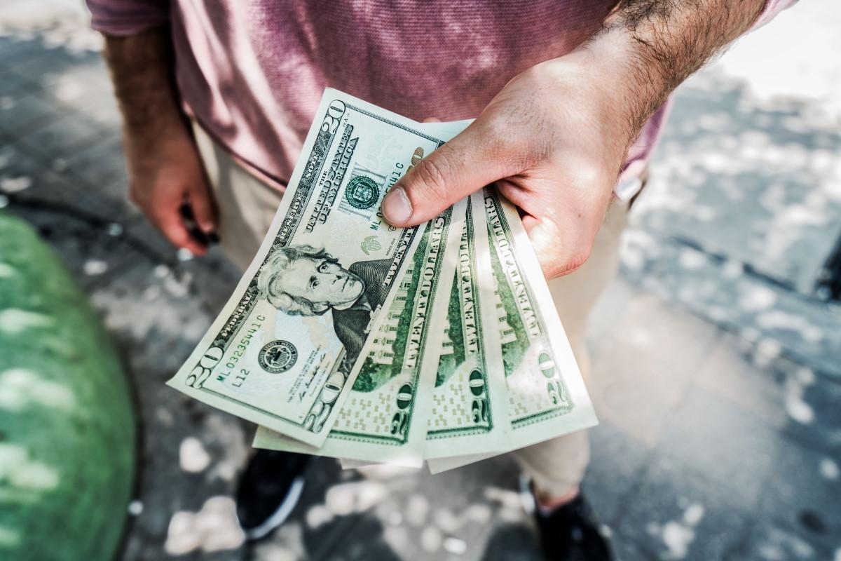 dollar bills informal economy