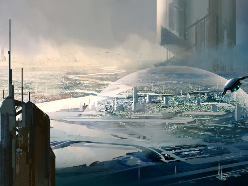 science fiction cities