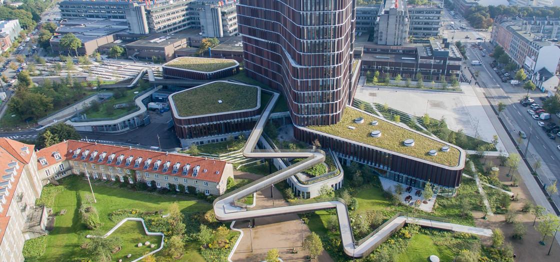 Copenhagen green roofs
