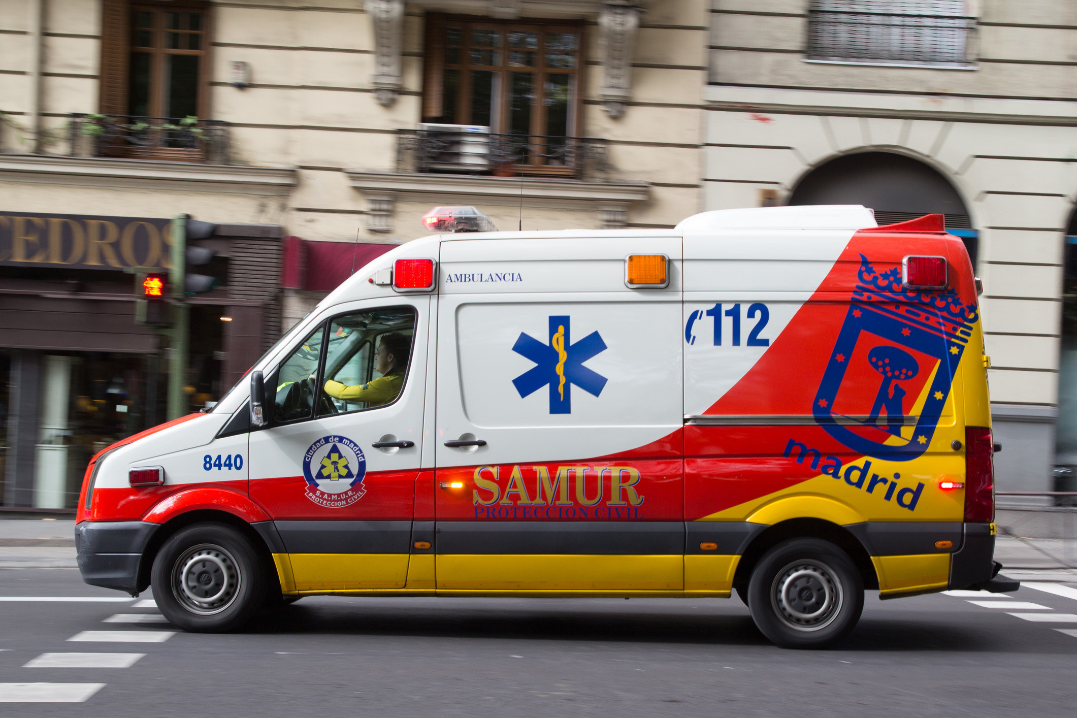 ambulancia sistema emergencia