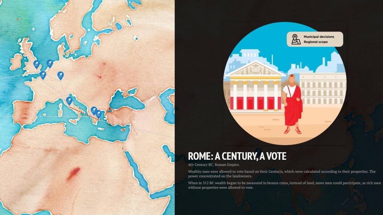democracy infographic