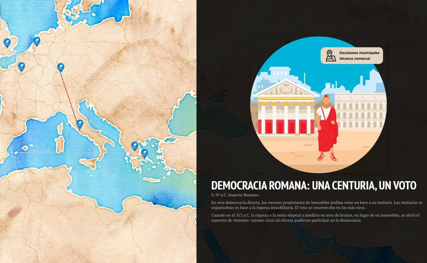 infografia democracia