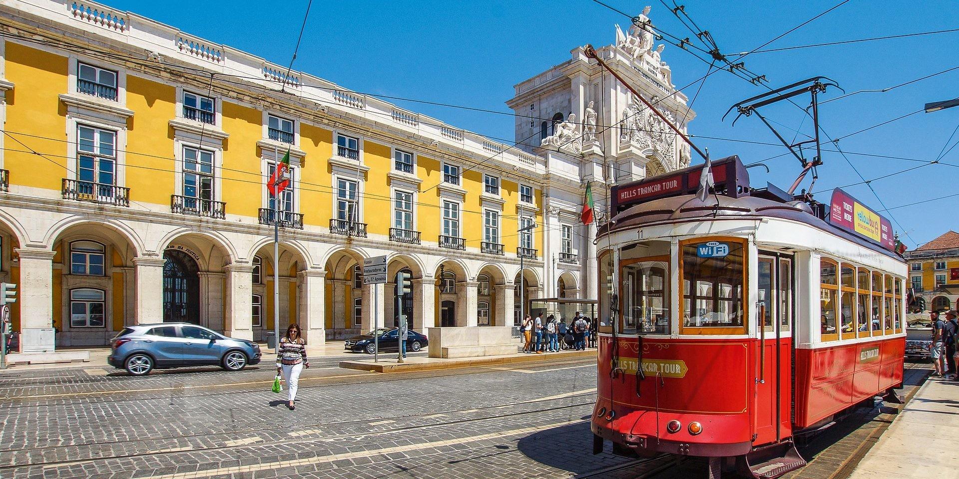 Lisboa transporte tranvía