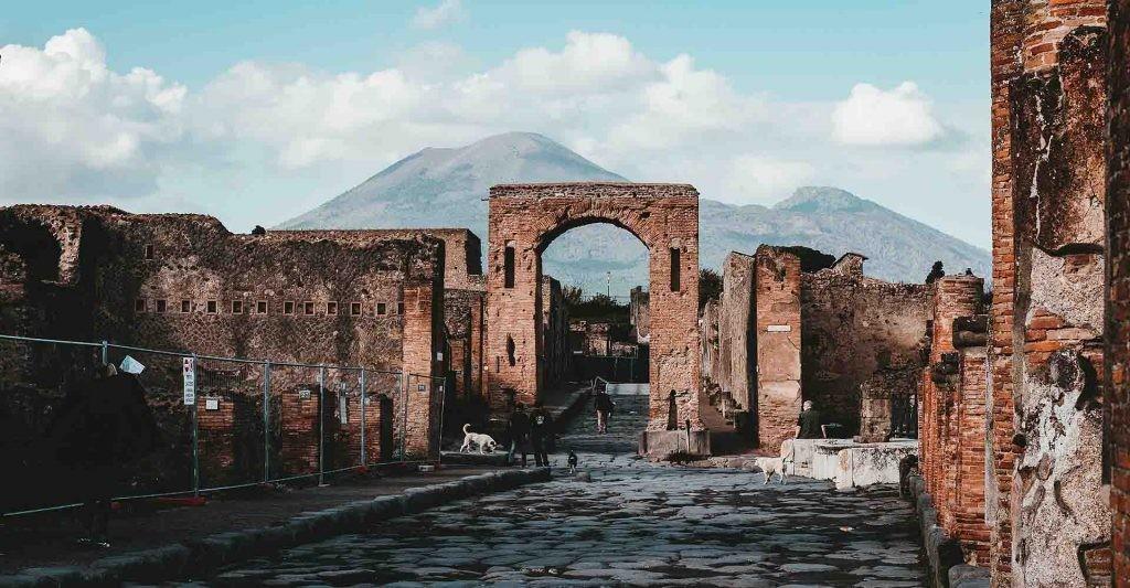 Las ruinas de Pompeya revelan que los romanos reciclaban.