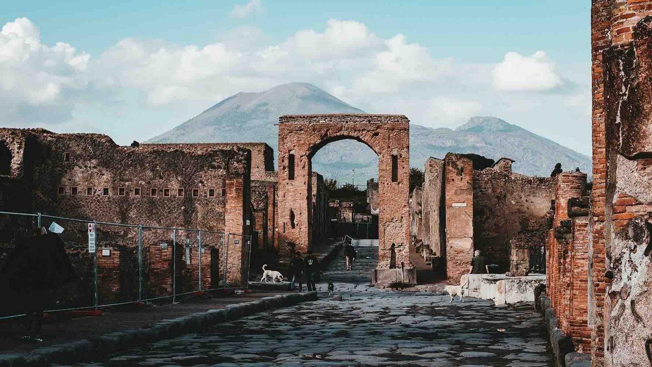 Las ruinas de Pompeya sugieren que los romanos reciclaban.