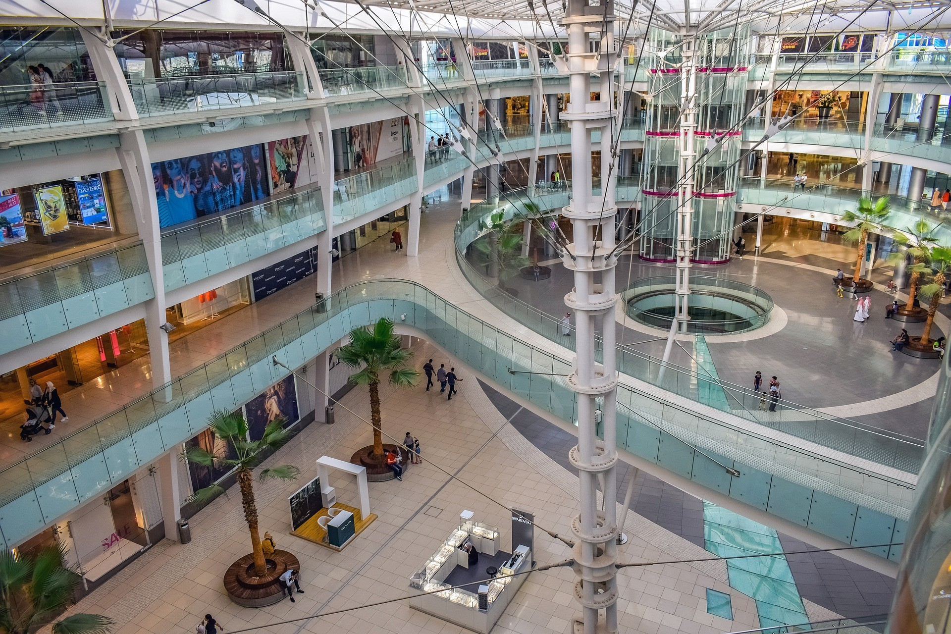 image of a barely transited shopping mall
