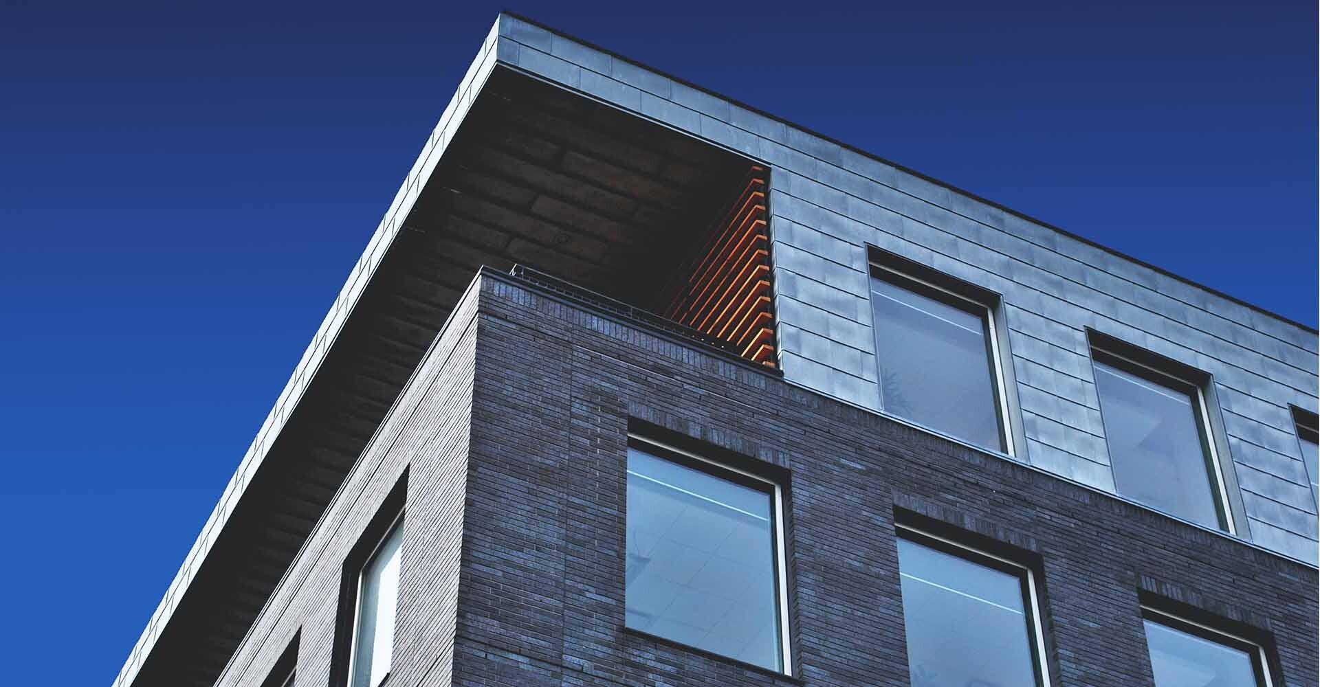 Bloque de viviendas modulares.