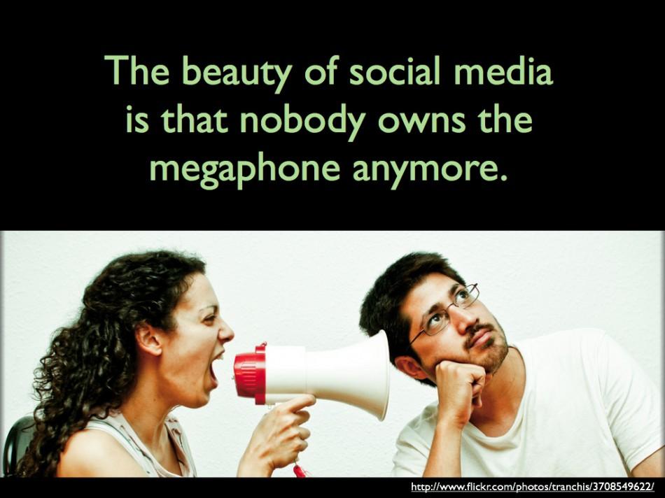 Nobody Owns the Megaphone - John Spencer