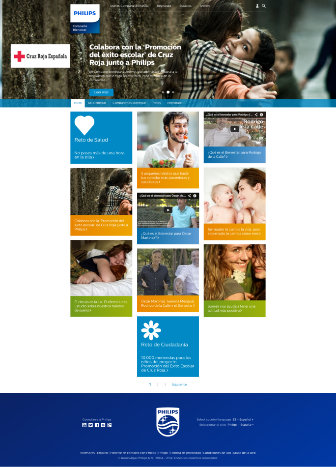 Philips Comparte Bienestar  compartiendo consejos de bienestar