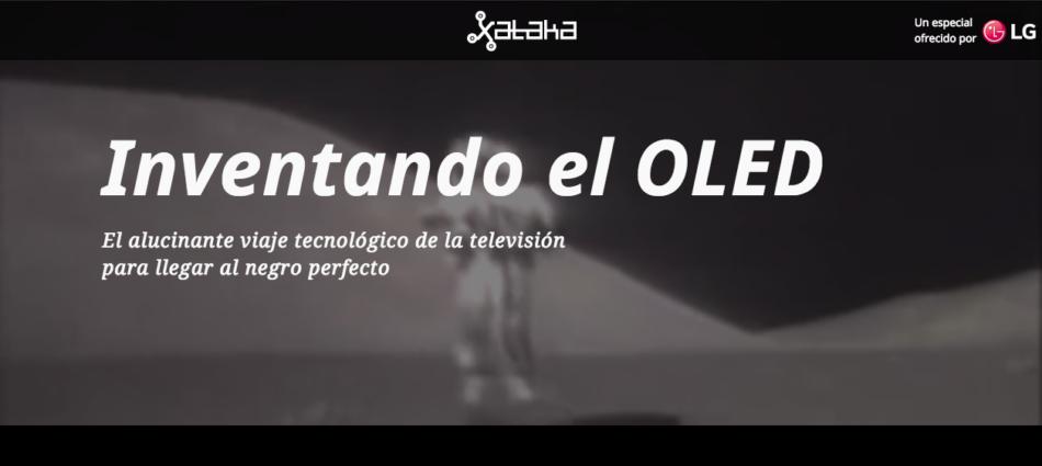 Inventado el OLED de LG y Xataka