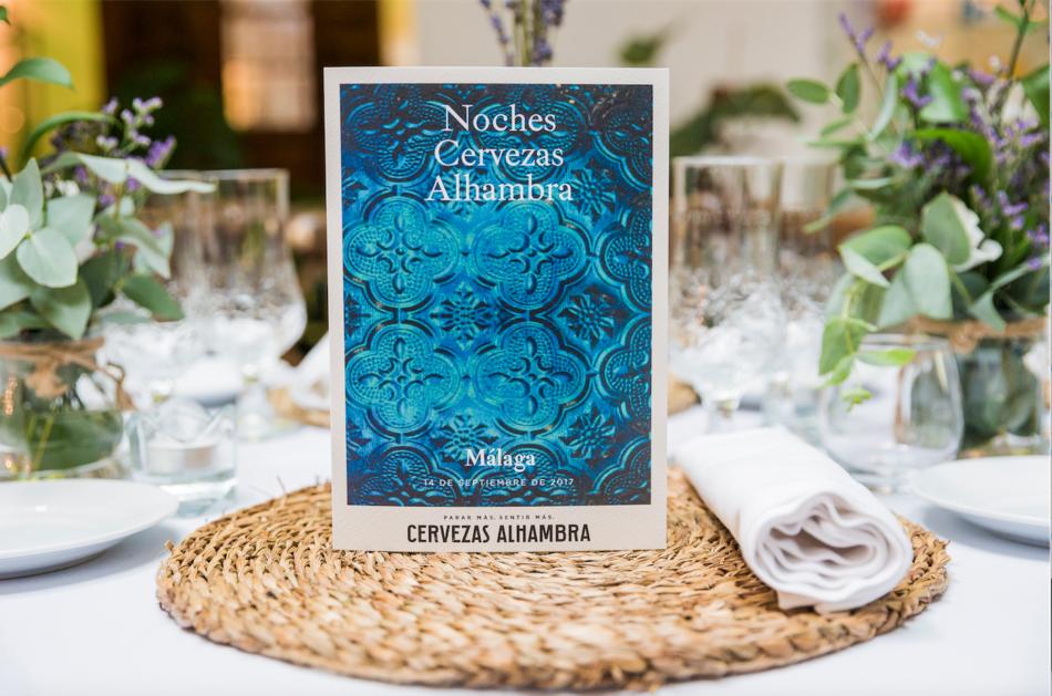 Invitación Noches Alhambra