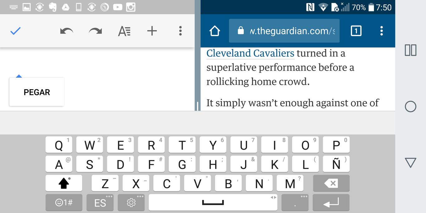 Doble pantalla, ¿doble eficiencia? Con estas app del LG G6, sí ...