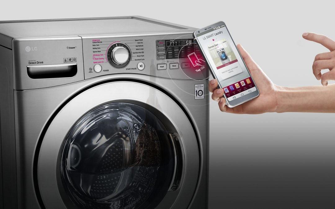 Una app y una lavadora con WiFi para ahorrar agua y reducir la factura de la luz
