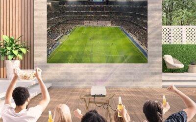 ¿Cómo disfrutar del fútbol en la terraza de tu casa?