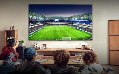 Cinco claves que todo apasionado al fútbol valorará a la hora de comprar un televisor