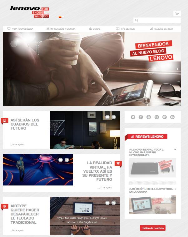 Blog Lenovo