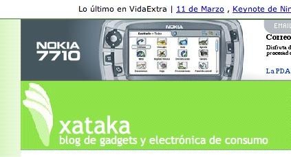 Publicidad de Nokia en Xataka