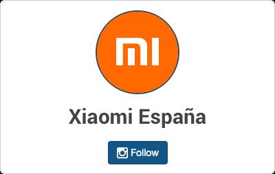 Xiaomi en Instagram