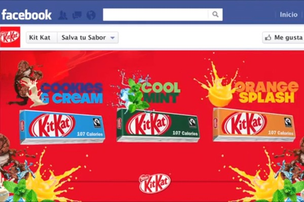 Concurso Facebook Kit kat