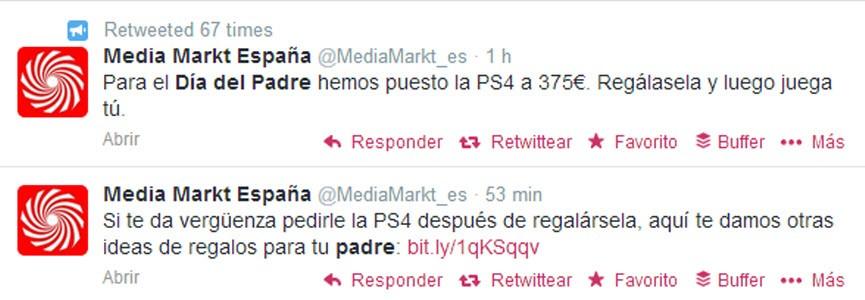 media markt día del padre twitter
