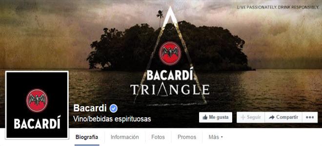 facebook bacardi