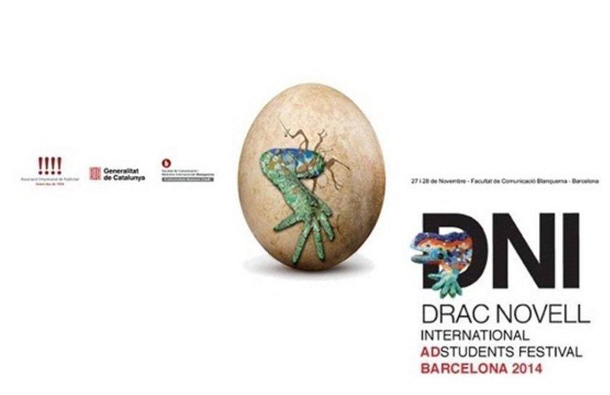 Cartel premios Drac Novell 2014