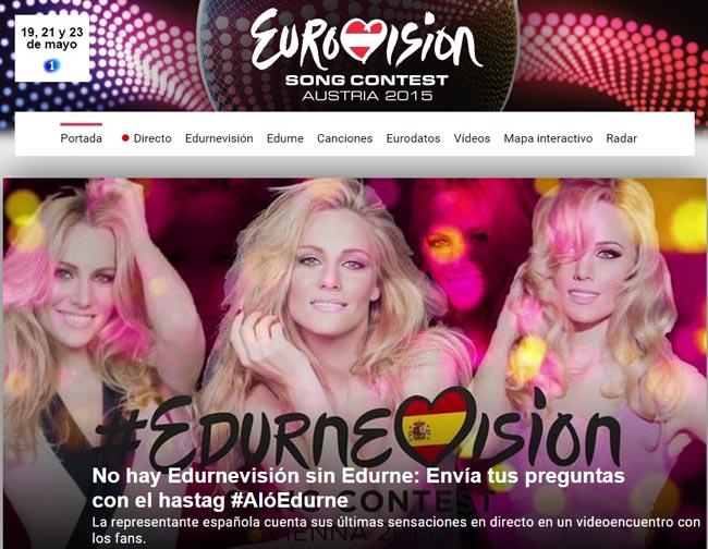 eurovision-edurne