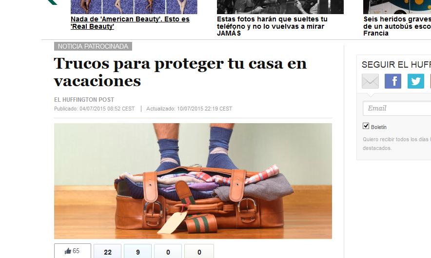 the huffington post noticia patrocinada