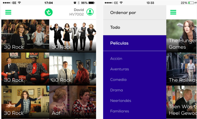 transavia entertainment app
