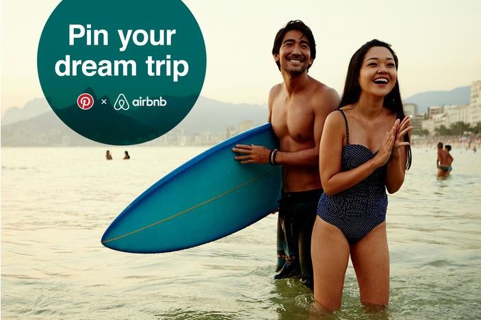 campaña pinterest airbnb