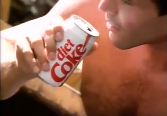 coca cola light años 90