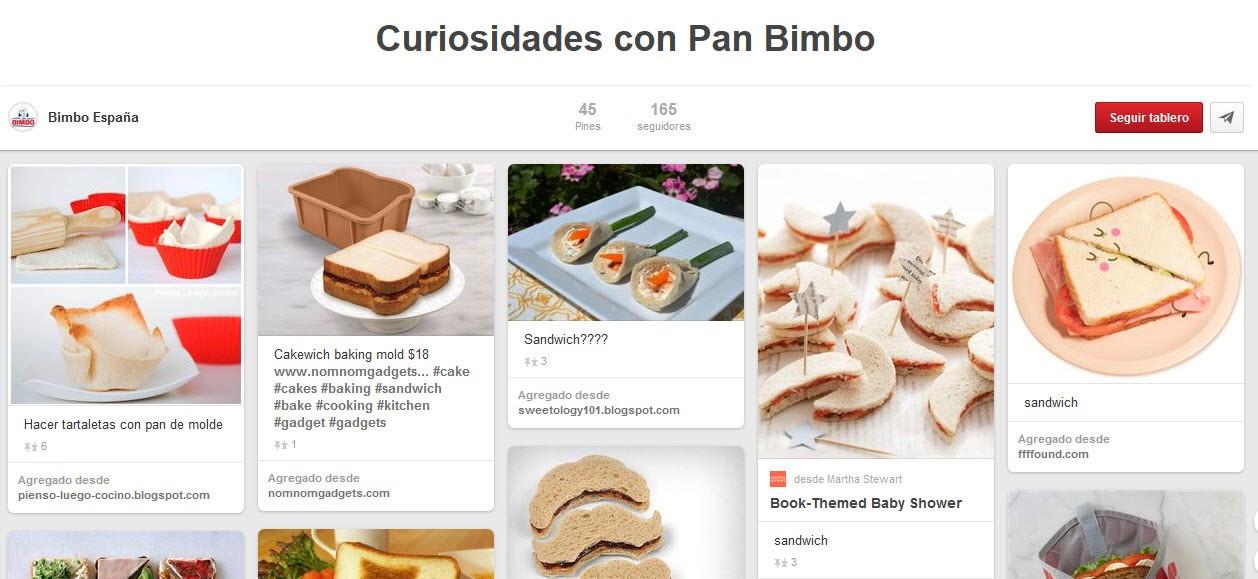 curiosidades con pan bimbo