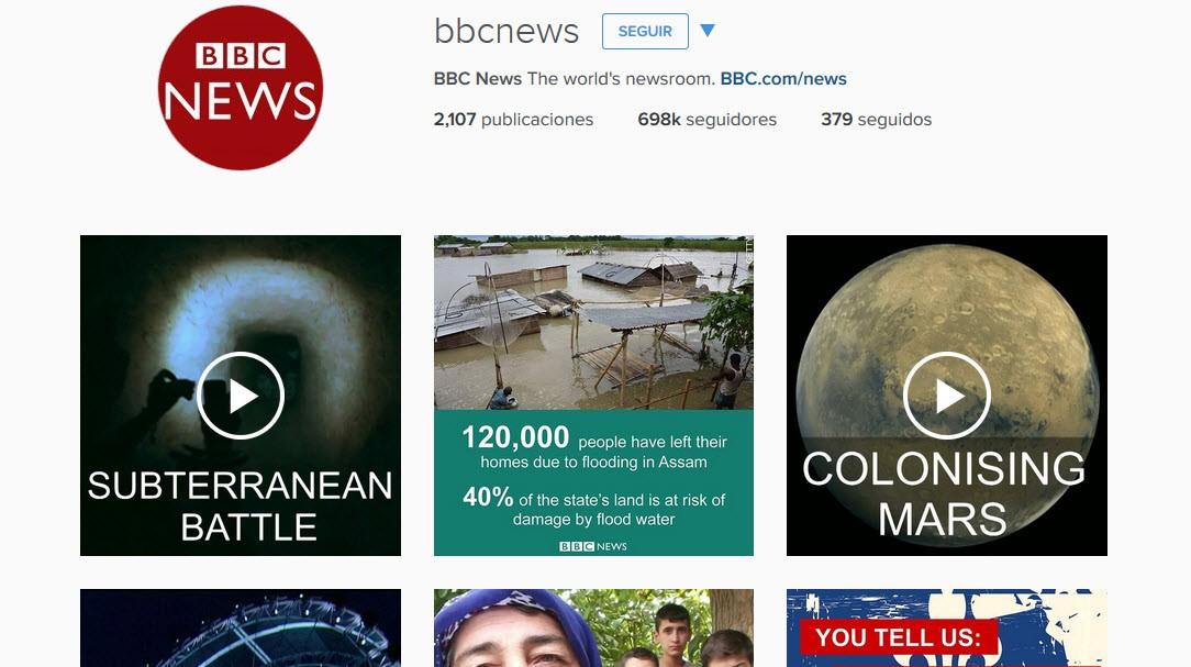 instagram bbc