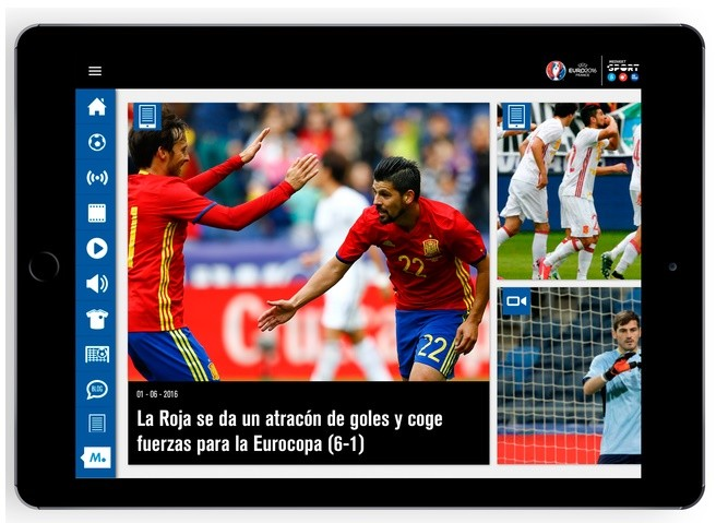 eurocopa - tablet